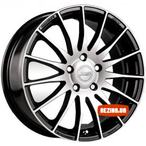Купить диски Racing Wheels H-428 R16 5x114.3 j7.0 ET40 DIA67.1 BK-F/P