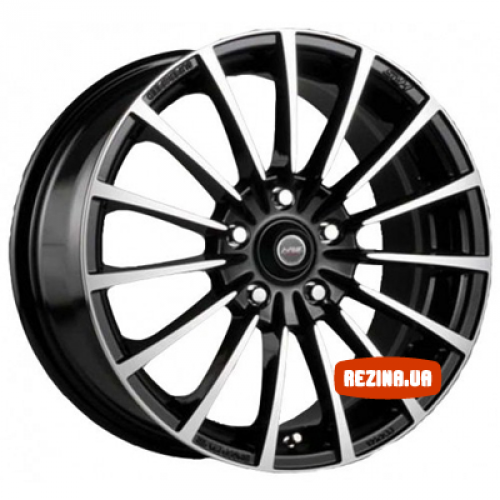 Купить диски Racing Wheels H-429 R15 4x114.3 j6.5 ET40 DIA67.1 BK-F/P