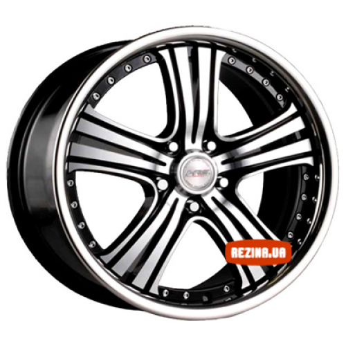 Купить диски Racing Wheels H-434 R20 5x112 j8.5 ET45 DIA66.6 BK-F/P