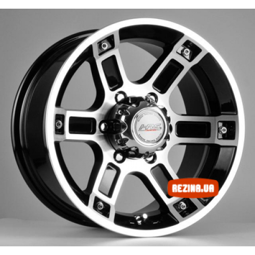 Купить диски Racing Wheels H-468 R16 6x139.7 j8.0 ET10 DIA110.5 BK-F/P