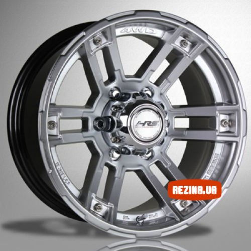Купить диски Racing Wheels H-525 R15 5x139.7 j7.0 ET0 DIA108.2 BK/FP