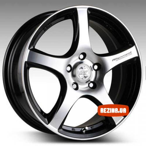 Купить диски Racing Wheels H-531 R15 5x114.3 j6.5 ET40 DIA67.1 BK-F/P