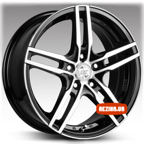 Купить диски Racing Wheels H-534 R15 4x100 j6.5 ET40 DIA67.1 BK-F/P