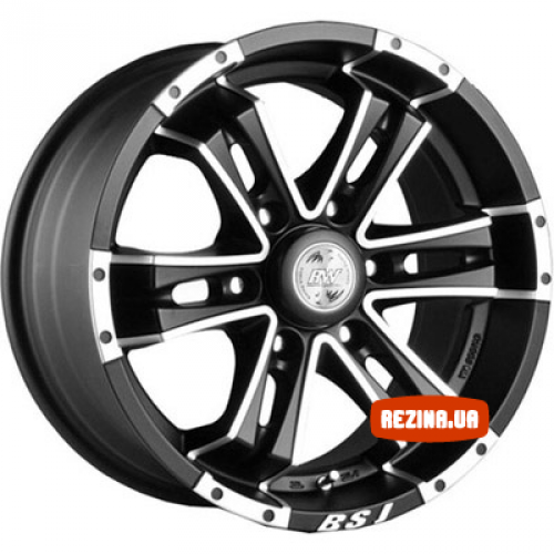 Купить диски Racing Wheels H-541 R17 6x139.7 j8.0 ET25 DIA110.5 BK-F/P