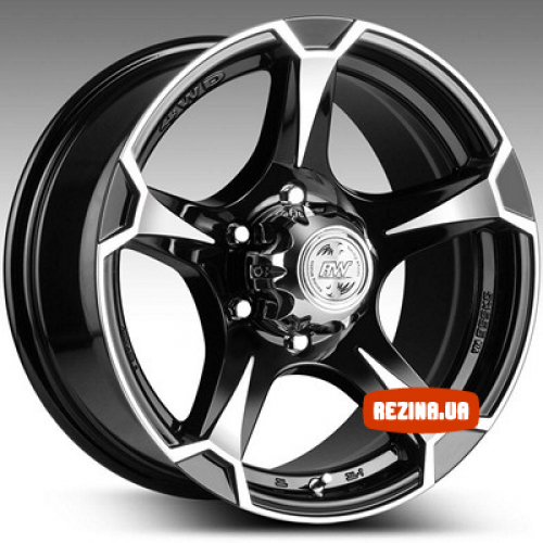 Купить диски Racing Wheels H-547 R16 6x139.7 j8.0 ET10 DIA110.5 DDN-F/P