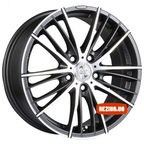 Купить диски Racing Wheels H-551 R15 5x114.3 j6.5 ET40 DIA67.1 DB-FP