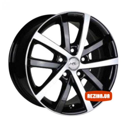 Купить диски Racing Wheels H-565 R16 4x114.3 j7.0 ET42 DIA73.1 BK-F/P