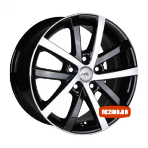 Купить диски Racing Wheels H-565 R16 5x100 j7.0 ET40 DIA73.1 BK-F/P