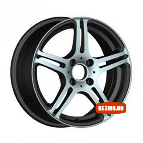Купить диски Racing Wheels H-568 R15 4x100 j6.5 ET38 DIA73.1 BK-F/P