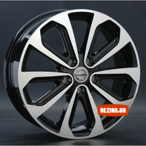 Купить диски Replay Nissan (NS69) R17 5x114.3 j6.5 ET40 DIA66.1 BKF
