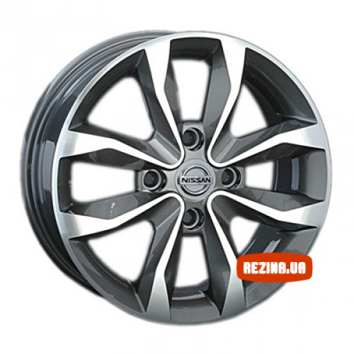 Купить диски Replay Nissan (NS94) R15 4x100 j5.5 ET45 DIA60.1 GMF