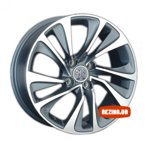 Купить диски Replay Peugeot (PG48) R17 4x108 j7.0 ET29 DIA65.1 GMF