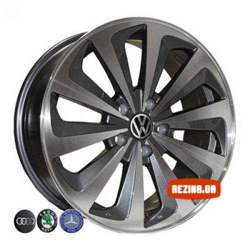 Купить диски Replica Audi (7321) R18 5x112 j8.0 ET43 DIA66.6 EP