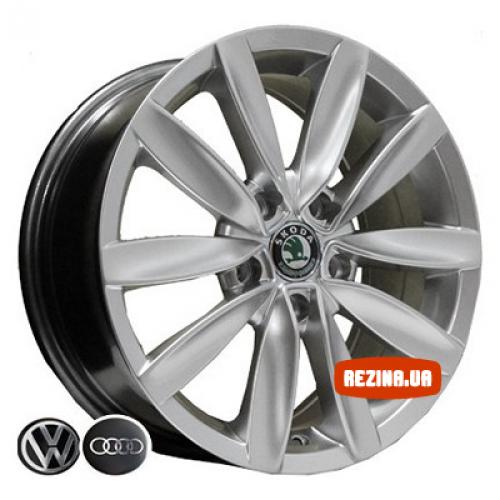 Купить диски Replica Audi (D015) R15 5x112 j6.5 ET42 DIA57.1 HS