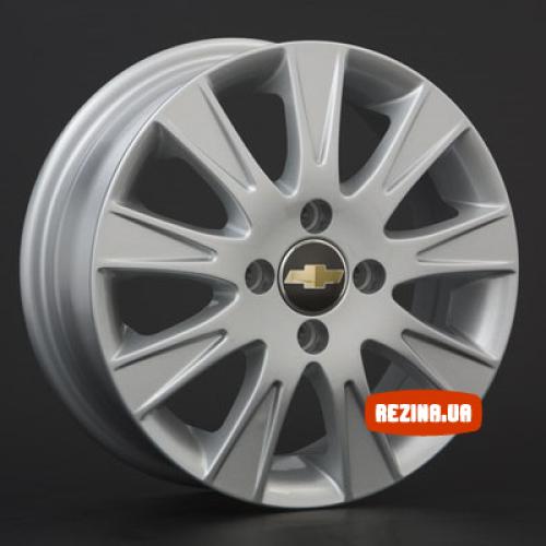 Купить диски Replica Chevrolet (GM12) R15 4x100 j6.0 ET44 DIA56.6 silver