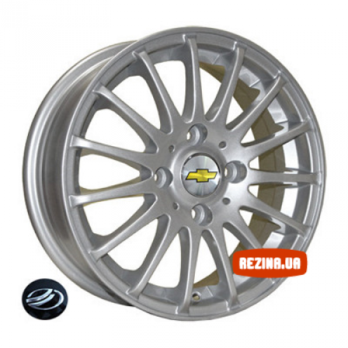 Купить диски Replica Chevrolet (Z613) R15 4x114.3 j6.0 ET44 DIA56.6 silver