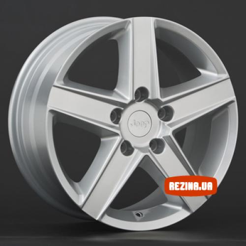 Купить диски Replica Chrysler (CR5) R16 5x114.3 j7.0 ET41.3 DIA71.4 silver