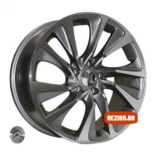 Купить диски Replica Citroen (Z1011) R17 4x108 j7.5 ET25 DIA65.1 DGMF