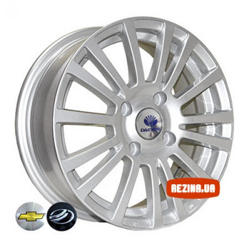 Купить диски Replica Daewoo (7379) R15 4x114.3 j6.0 ET44 DIA56.6 silver
