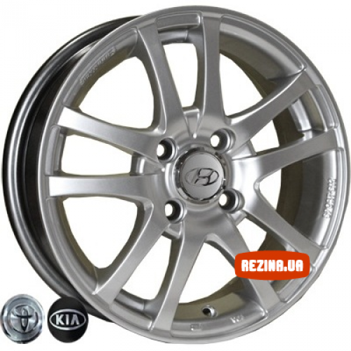 Купить диски Replica Hyundai (450) R14 4x100 j5.0 ET45 DIA54.1 HS