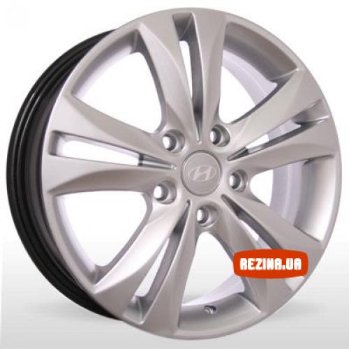 Купить диски Replica Hyundai (6028) R16 5x114.3 j6.0 ET50 DIA67.1 silver