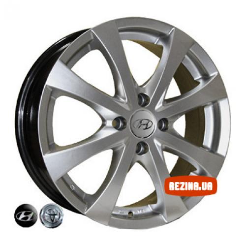 Купить диски Replica Hyundai (7345) R16 4x100 j6.0 ET48 DIA54.1 HS