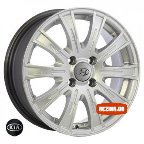 Купить диски Replica Hyundai (9123) R15 4x100 j6.0 ET45 DIA54.1 HS