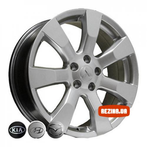 Купить диски Replica Hyundai (D025) R18 5x114.3 j7.0 ET38 DIA67.1 HS