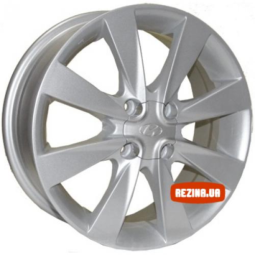 Купить диски Replica Hyundai (Z457) R15 4x100 j6.0 ET43 DIA54.1 silver