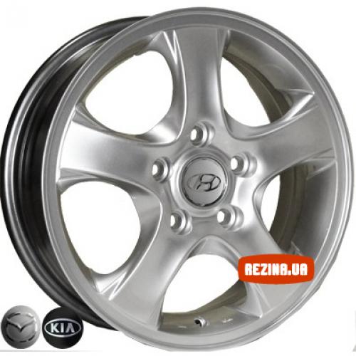 Купить диски Replica Hyundai (Z984) R15 5x114.3 j5.5 ET47 DIA67.1 HS