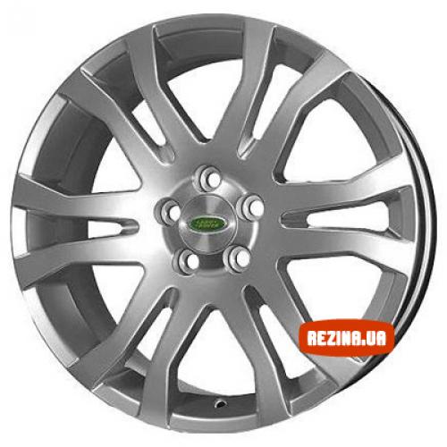 Купить диски Replica Land Rover (FR639) R18 5x108 j8.0 ET55 DIA63.4 silver