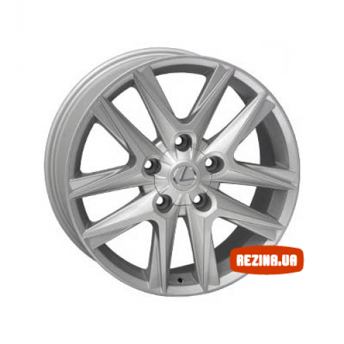 Купить диски Replica Lexus (LE996e) R17 5x150 j8.0 ET60 DIA110.5 silver