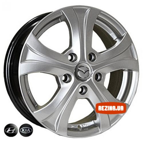 Купить диски Replica Mazda (7447) R15 5x114.3 j6.0 ET49 DIA67.1 HS