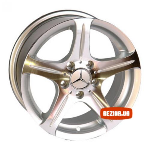 Купить диски Replica Mercedes (145) R15 5x112 j7.0 ET35 DIA66.6 SP