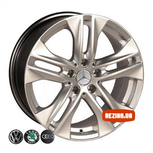 Купить диски Replica Mercedes (D005) R17 5x112 j7.5 ET38 DIA66.6 HS