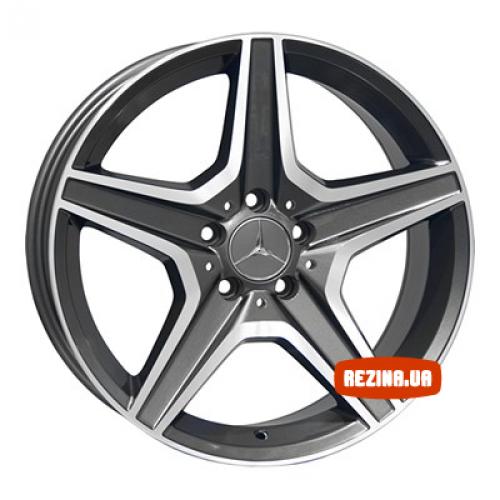 Купить диски Replica Mercedes (ME313f) R18 5x112 j8.5 ET35 DIA66.6 MG