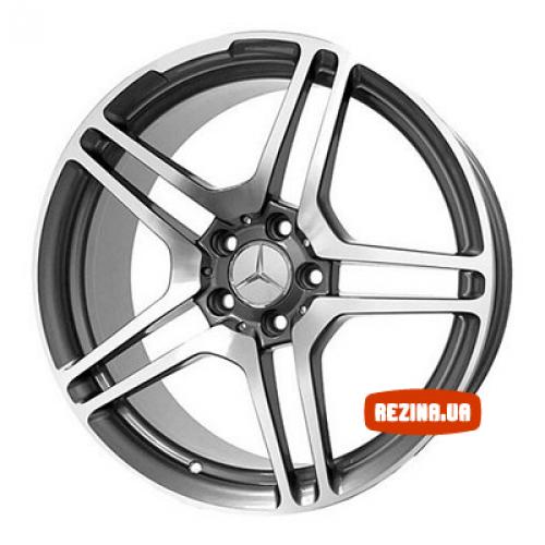 Купить диски Replica Mercedes (ME5010d) R20 5x112 j8.5 ET45 DIA66.6 M/GRA