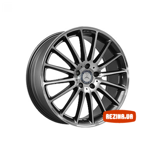 Купить диски Replica Mercedes (MR724) R19 5x112 j8.0 ET45 DIA66.6 MBL
