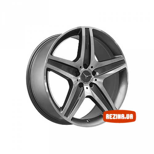 Купить диски Replica Mercedes (MR968) R20 5x112 j10.0 ET46 DIA66.6 MBL