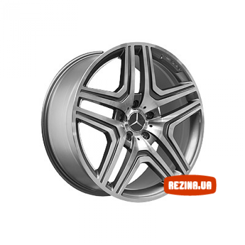 Купить диски Replica Mercedes (MR975) R20 5x130 j10.0 ET50 DIA84.1 MBL