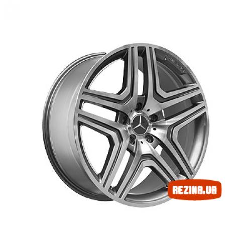 Купить диски Replica Mercedes (MR975) R21 5x130 j10.0 ET50 DIA84.1 MBL