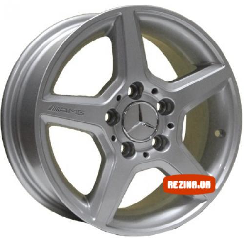 Купить диски Replica Mercedes (Z274) R15 5x112 j6.5 ET43 DIA66.6 silver