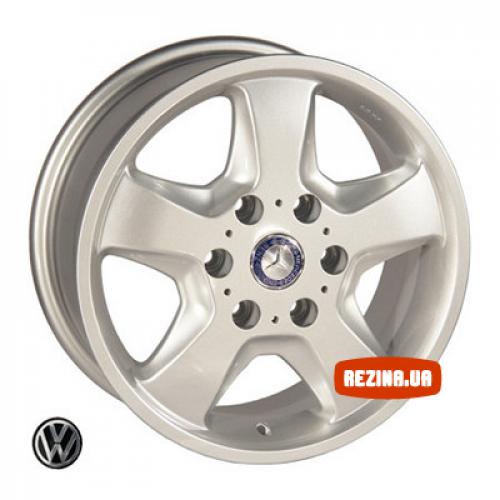 Купить диски Replica Mercedes (Z491) R16 6x130 j7.0 ET50 DIA84.1 silver