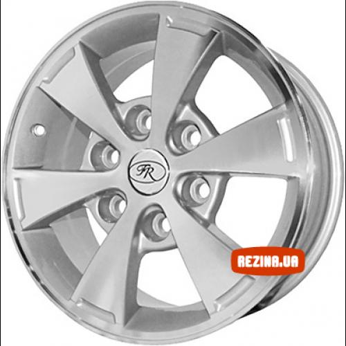 Купить диски Replica Mitsubishi (646d) R16 6x139.7 j7.0 ET35 DIA67.1 silver