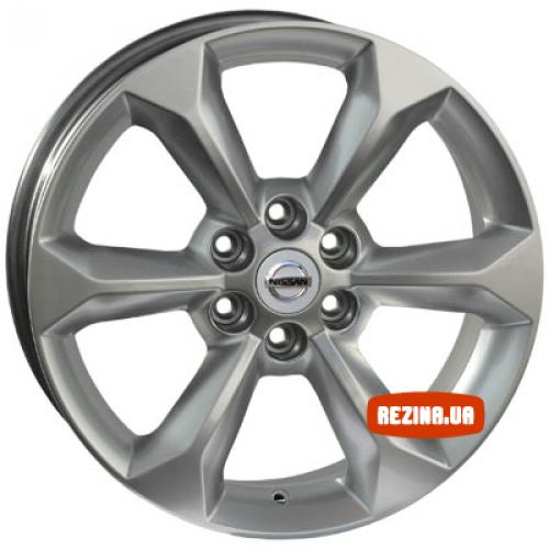 Купить диски Replica Nissan (650d) R17 6x114.3 j7.0 ET30 DIA66.1 HS