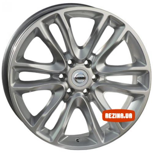 Купить диски Replica Nissan (8017d) R18 6x114.3 j8.0 ET30 DIA66.1 HS