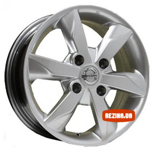 Купить диски Replica Nissan (D663) R15 4x114.3 j6.0 ET40 DIA66.1 HS