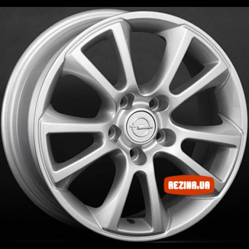Купить диски Replica Opel (OPL2) R16 5x110 j6.5 ET37 DIA65.1 silver