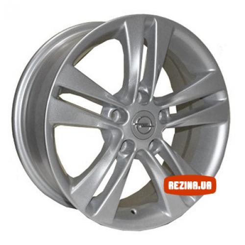 Купить диски Replica Opel (Z227) R16 5x110 j6.5 ET35 DIA65.1 silver