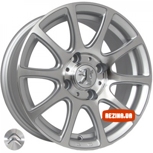 Купить диски Replica Peugeot (1010) R14 4x108 j6.0 ET25 DIA65.1 SP